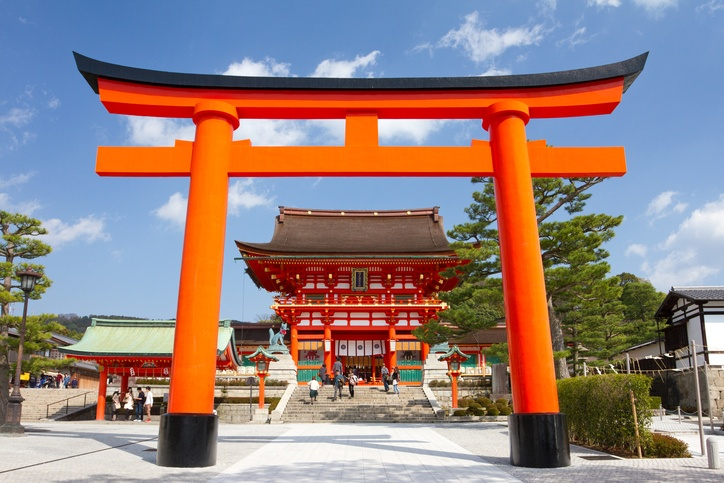Fushimi Inari Shrine is located in Kyoto, Japan